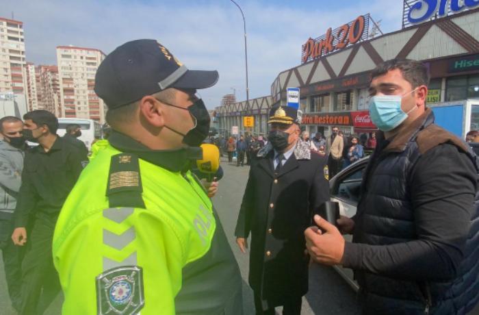 Bakıda yol polisini aldatmaq istəyən sürücülər belə aşkarlandı — FOTO/VİDEO