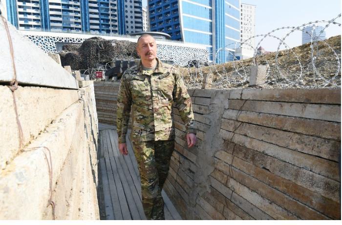 Qalib Ali Baş Komandan Hərbi Qənimətlər Parkında — FOTOREPORTAJ