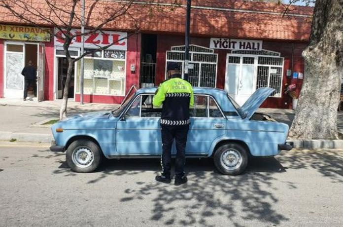 Yol polisi İsmayıllıda reyd keçirdi — FOTO