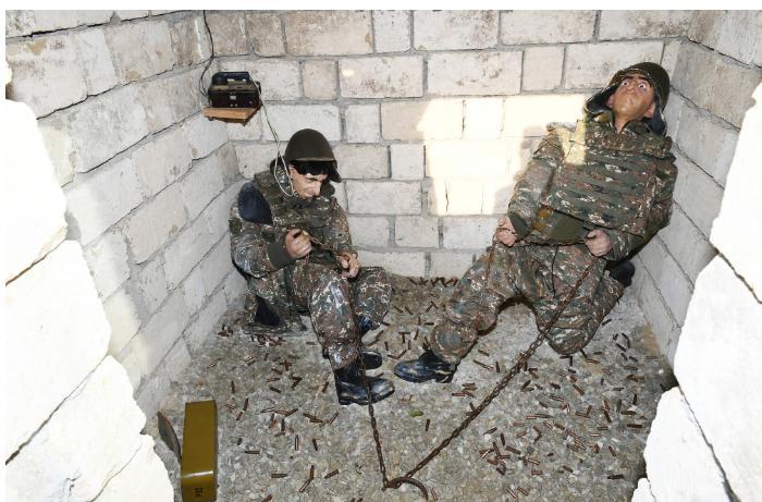 Hərbi Qənimətlər Parkı: Ermənistanın miskinliyinin sübutu