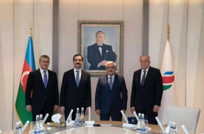 SOCAR-ın prezidenti Türkiyə səfiri ilə görüşdü
