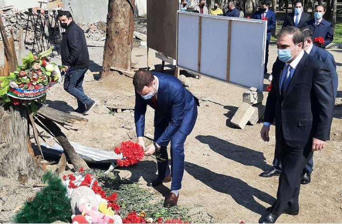 """Ukraynalı nazir: """"Azad olunmuş ərazilərin bərpasına dəstək verməyə hazırıq"""""""