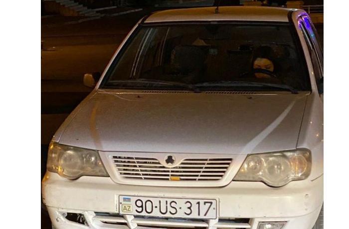 Masazırda piyadanı vurub qaçan 21 yaşlı qadın sürücünü polislər saxladı — FOTO
