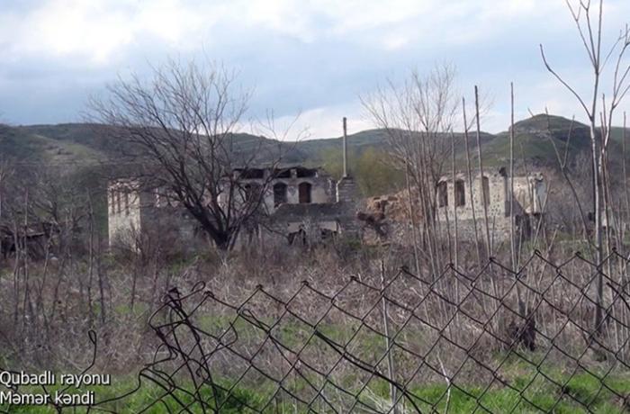 Qubadlının Məmər kəndindən görüntülər — VİDEO