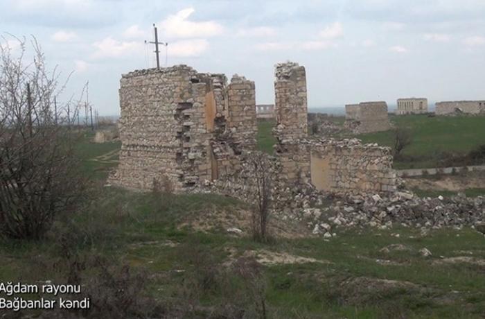 Ağdamın Bağbanlar kəndindən görüntülər — VİDEO