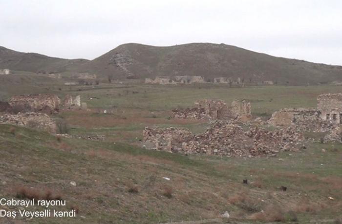 Cəbrayılın Daş Veysəlli kəndinin görüntüləri — VİDEO