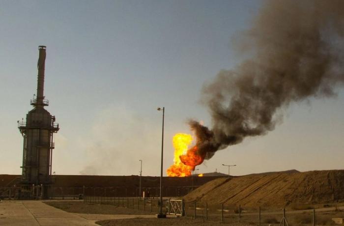 İraqda iki neft quyusuna hücum edildi