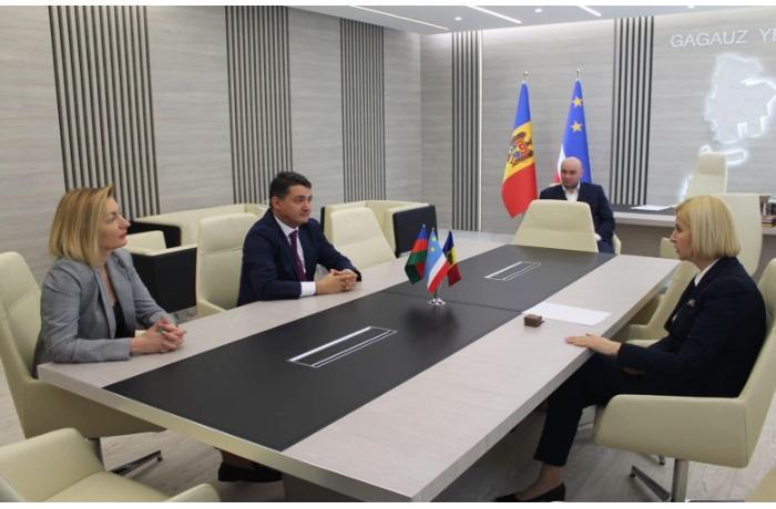 Moldova Azərbaycanlıları Konqresinin sədri Qaqauziya rəhbəri ilə görüşdü