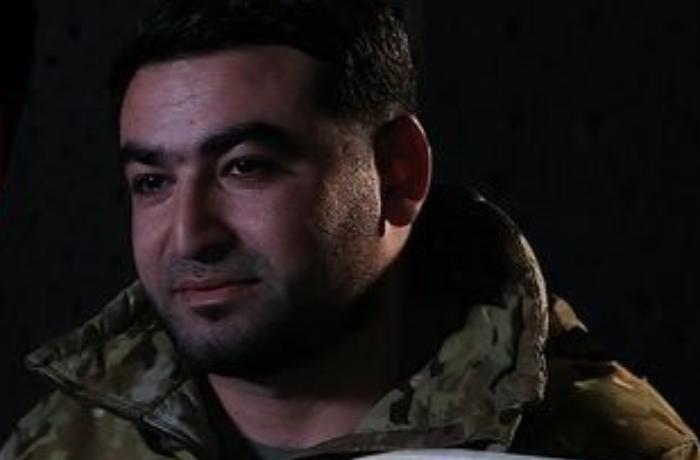 """Şuşada erməni maşınları ilə """"avtoşluq edən"""" döyüşçü — VİDEO"""