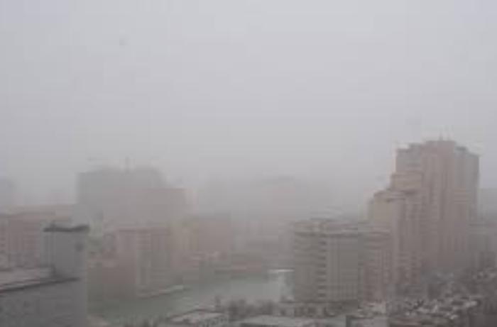 Nazirlik: Havada toz dumanı müşahidə olunur
