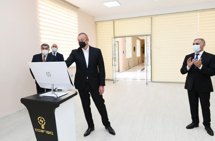 """Hacıqabulda """"Qarasu"""" yarımstansiyası istismara verildi — FOTOLAR"""