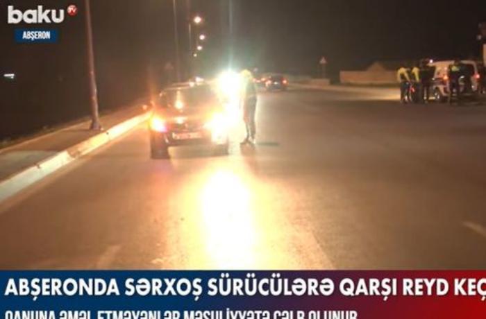 Abşeronda keçirilən reyd zamanı 15 nəfər saxlanıldı — VİDEO