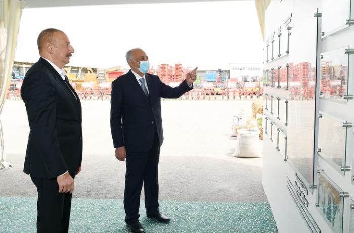 """Hacıqabulda """"Azərsun Şamaxı Aqropark""""ın açılışı oldu — FOTOLAR"""
