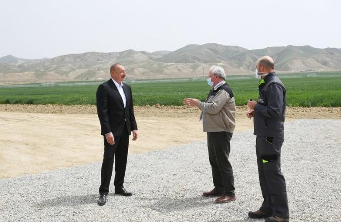 """Hacıqabulda """"Aqro Dairy"""" MMC-nin aqroparkının təqdimatı oldu — FOTOLAR"""