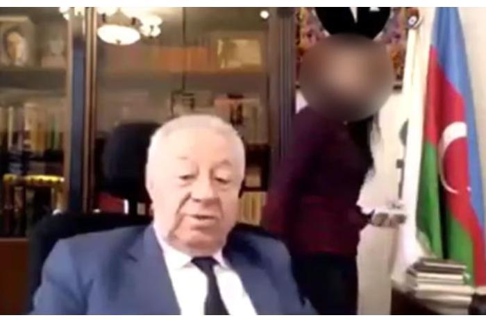 Sabiq deputat Hüseynbala Mirələmovun əxlaqsız videosu yayıldı — VİDEO