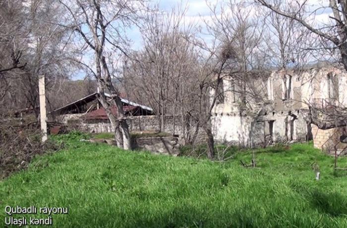 Qubadlının Ulaşlı kəndinin görüntüləri — VİDEO