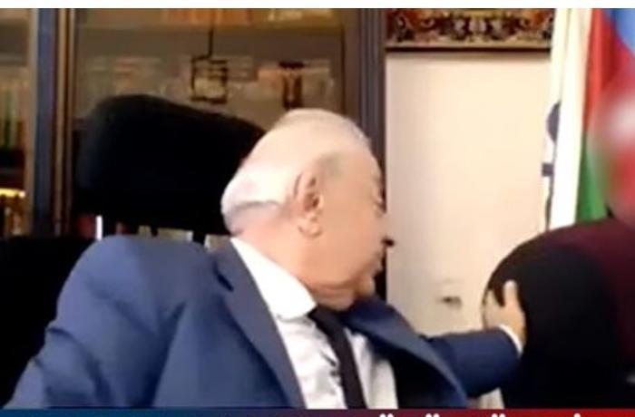 """Hüseynbala Mirələmov danışdı — """"Xəbərim yoxdur"""" (VİDEO)"""