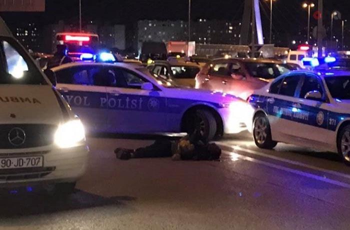 Aeroport şosesində piyadanı avtomobil vurdu — Yaralı komaya düşdü