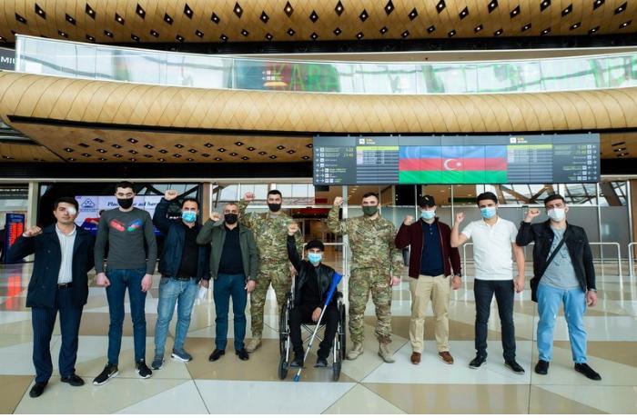 Daha 12 qazimiz Türkiyəyə göndərildi — FOTOLAR