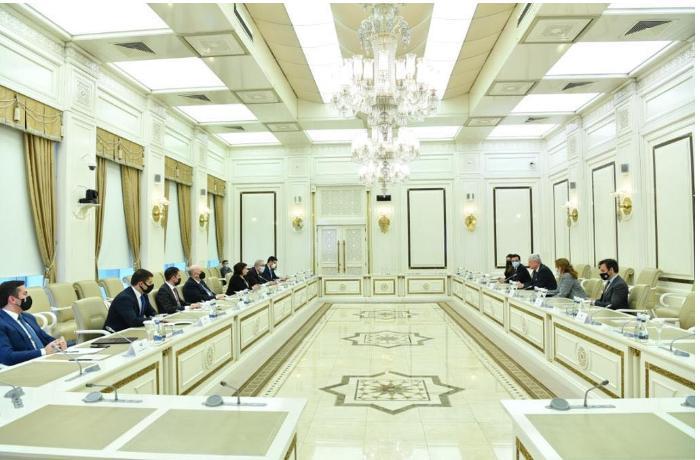 Sahibə Qafarova BMT Baş Assambleyasının prezidenti ilə görüşdü — FOTOLAR