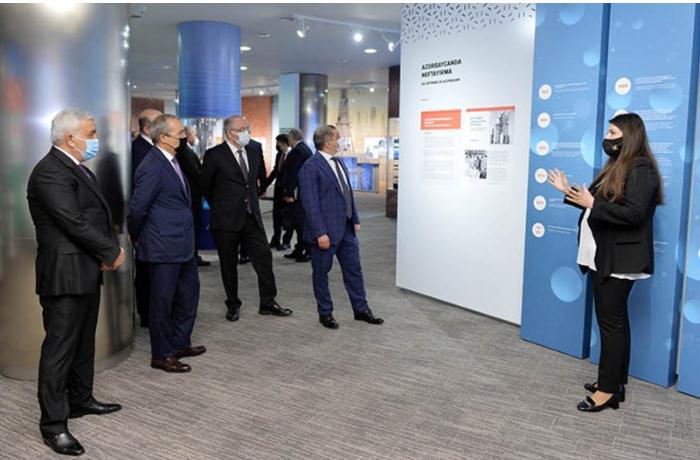 SOCAR-da Vizualizasiya Mərkəzinin açılışı oldu — FOTOLAR