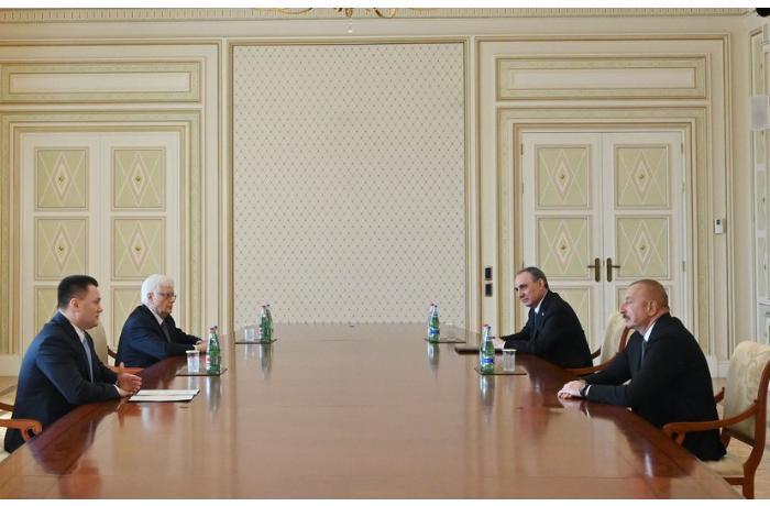 Azərbaycan Prezidenti Rusiya Baş prokurorunu qəbul etdi — YENİLƏNİB