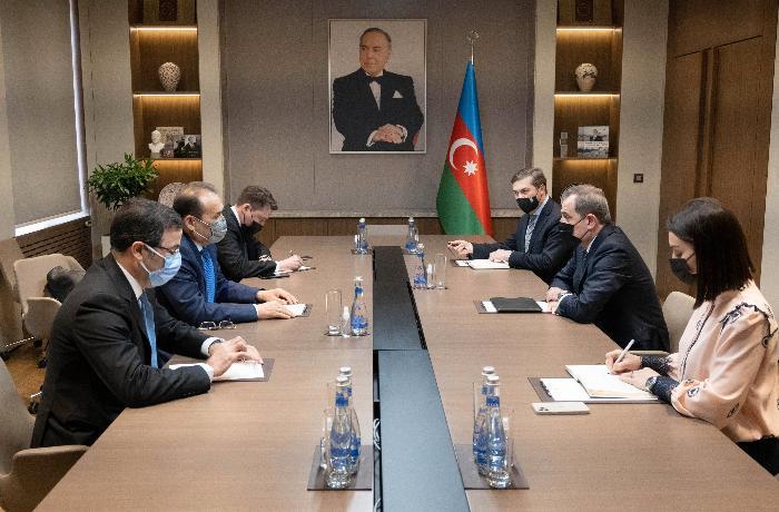 Ceyhun Bayramov Türk Şurasının Baş katibi ilə görüşdü