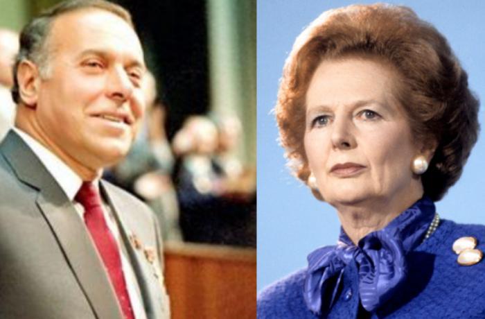 1982-ci ildə Baş nazir Tetçerə Heydər Əliyevlə bağlı hansı sual verilib? — Britaniya parlamentində Azərbaycan məsələsi