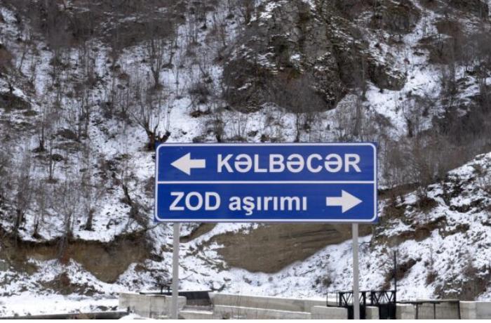 Kəlbəcərdəki bu mənzərə insanın canına üşütmə salır — FOTO