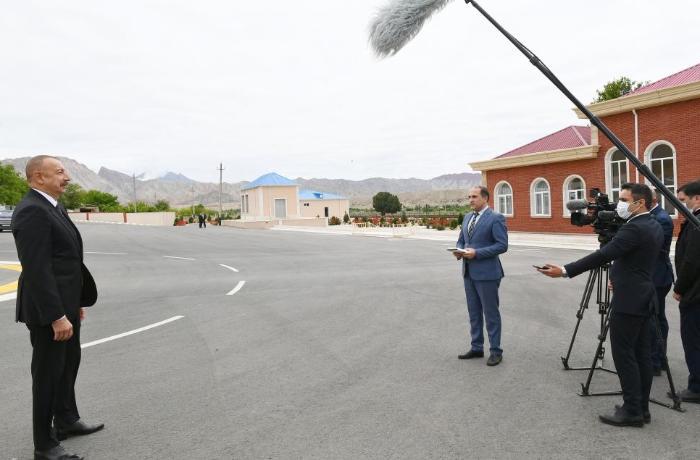 """İlham Əliyev: """"Zəngəzur dəhlizi açılmalıdır və açılacaq"""""""