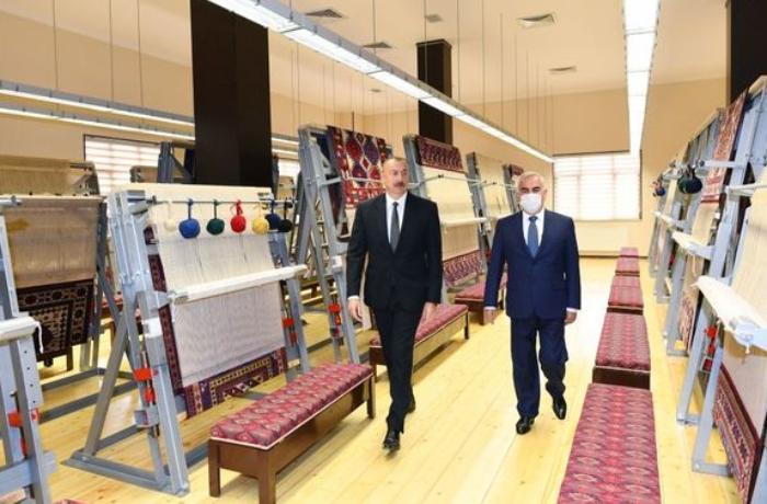 """Prezident """"Azərxalça"""" ASC-nin Naxçıvan filialının açılışında — YENİLƏNİB"""