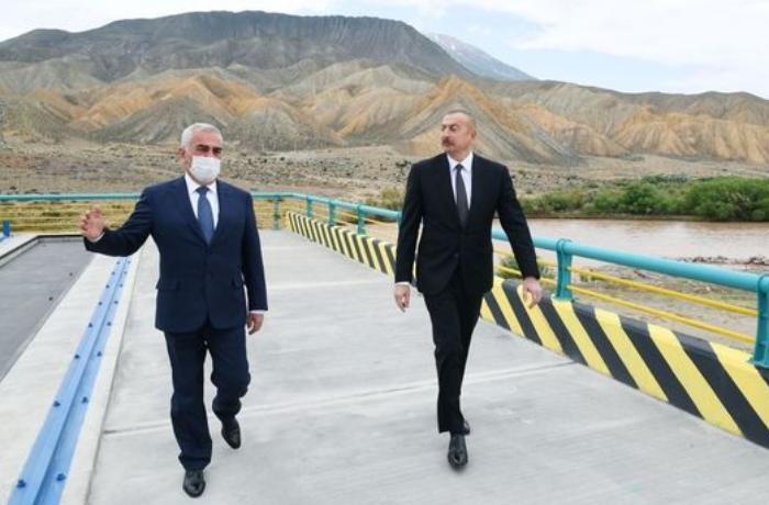 İlham Əliyev Ordubad SES-in tikintisi ilə tanış oldu — YENİLƏNİB