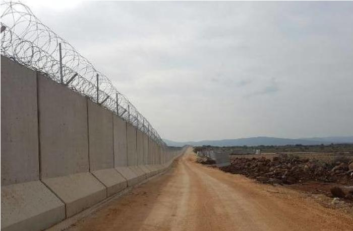 Türkiyə - Suriya sərhədindəki beton divarın inşası yekunlaşdı — VİDEO