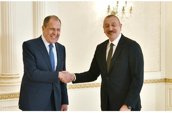 İlham Əliyev Sergey Lavrovu qəbul etdi — YENİLƏNİB/VİDEO