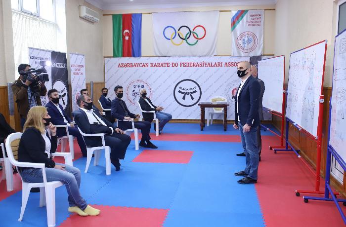 Dünya Müasir Karate Federasiyasının Azərbaycanda ilk tədbiri — FOTOLAR