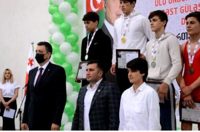 Gürcüstanda Ulu Öndər Heydər Əliyevin 98-ci ildönümünə həsr olunan Şahmat turniri keçirildi — FOTOLAR
