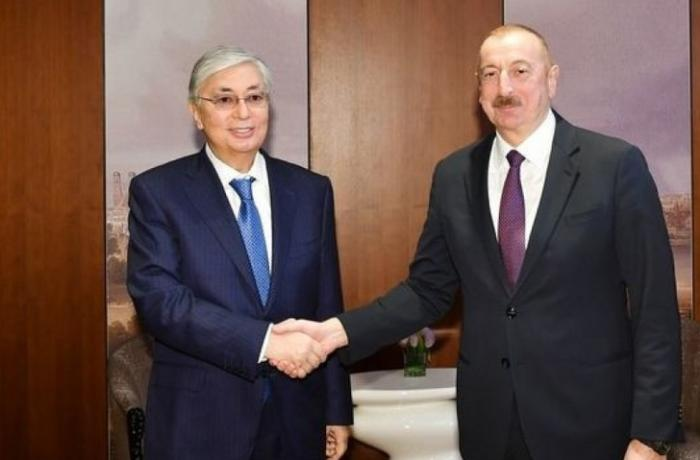 Azərbaycan və Qazaxıstan prezidentləri arasında telefon danışığı oldu