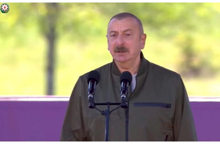 """Prezidentdən Cıdır düzündə tapşırıq: """"Maskaları çıxarın"""" — VİDEO"""