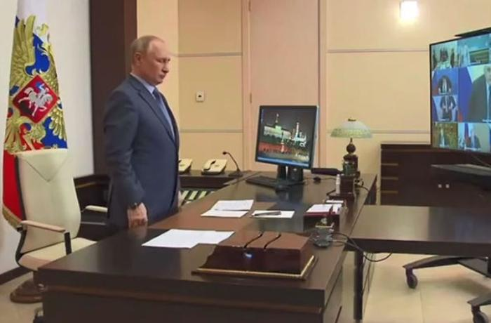 Putin Kazan faciəsindən danışdı — VİDEO