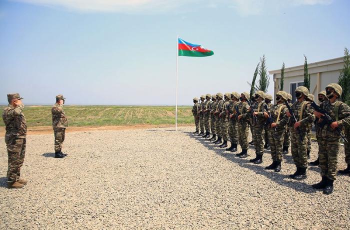 Azad olunmuş ərazilərdə yeni hərbi hissələrin açılışı oldu — VİDEO