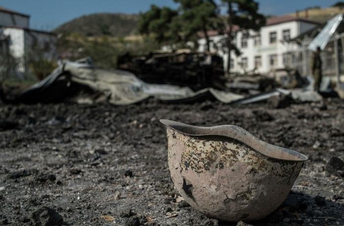 Ermənistanda qarajda əsgər meyiti aşkarlandı