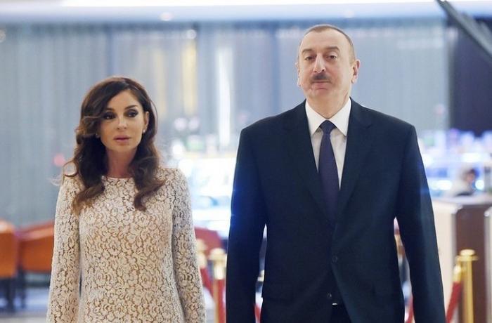 Prezidentlə xanımı Zəngilan ictimaiyyətinin nümayəndələri ilə görüşdülər