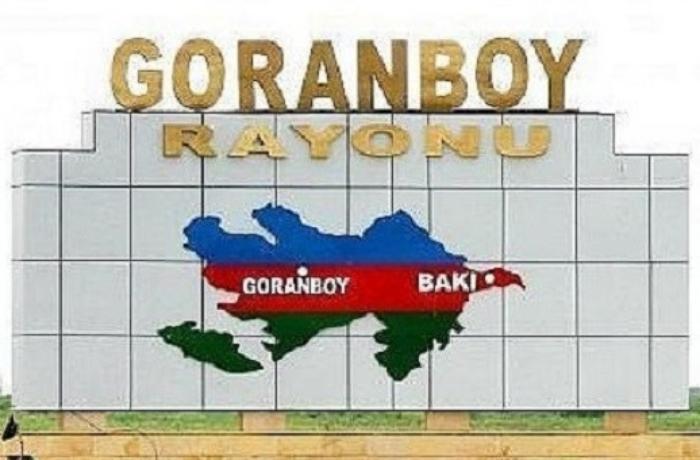 Goranboyda ferma yandı