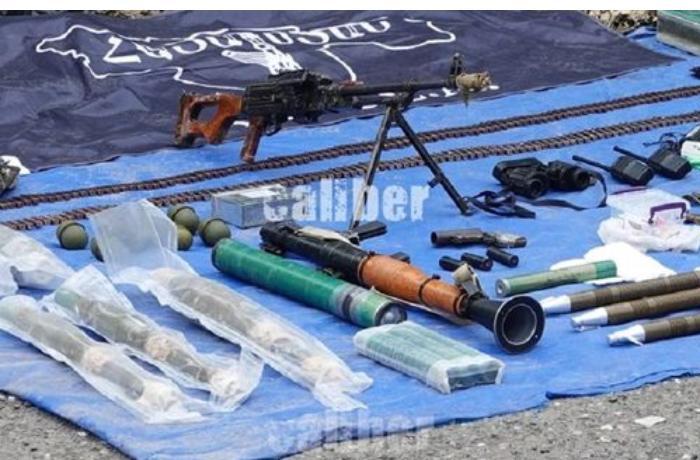 Suqovuşan yaxınlığında ASALA terrorçularının anbarı aşkarlandı — FOTO