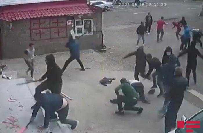 Gürcüstanda azərbaycanlılara hücum oldu — ANBAAN VİDEO