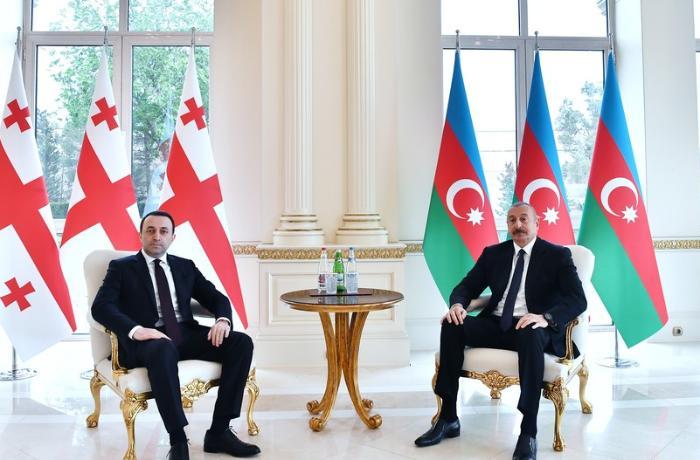 Azərbaycan Prezidenti Gürcüstanın Baş nazirini qəbul etdi — YENİLƏNİB