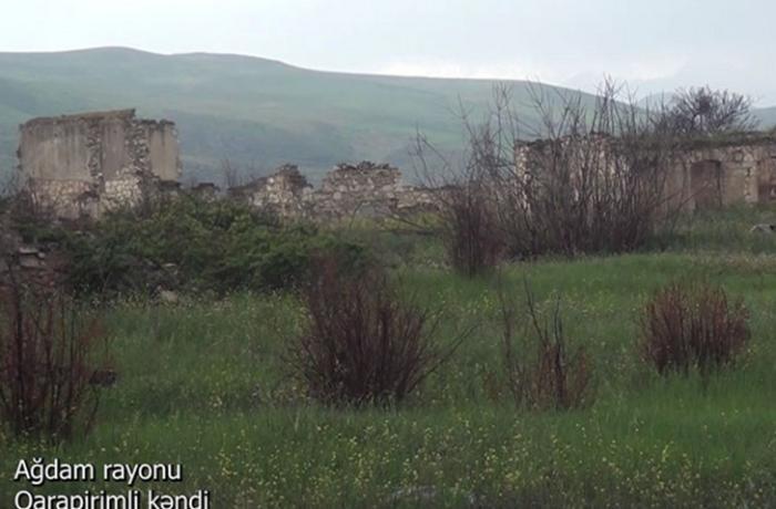 Ağdamın Qarapirimli kəndindən görüntülər — VİDEO