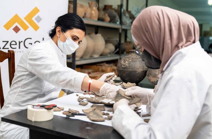 Çovdar nekropolu ilə bağlı elmi tədqiqatların ikinci mərhələsinə başlandı — FOTOLAR