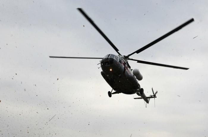 Rusiyada helikopter radardan itdi