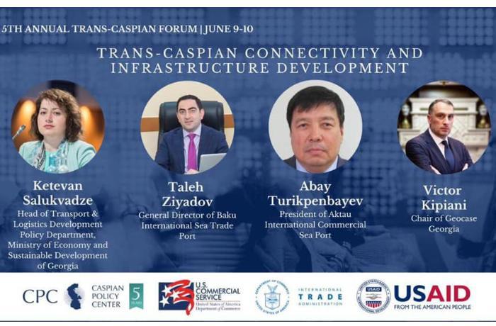 Bakı Limanının Baş direktoru ABŞ-da 5-ci İllik Transxəzər Forumunda iştirak etdi